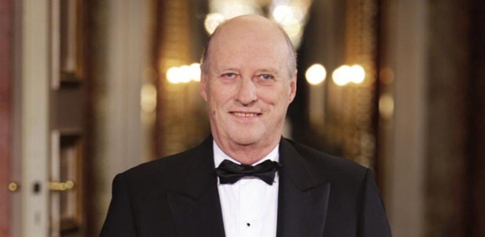 TALTE: Kong Harald holdt sin tale på nyttårsaften. Foto: Scanpix.