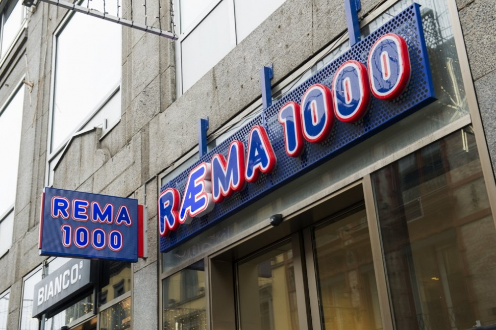 Rema 1000-butikk i Oslo sentrum. Foto: Fredrik Varfjell / NTB scanpix Foto: NTB scanpix