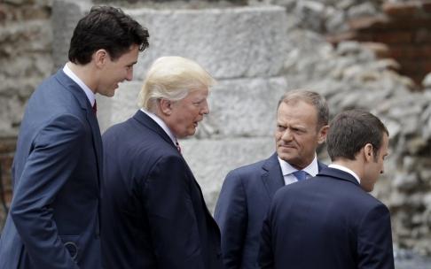 Tusk: Det mest utfordrende G7-møtet på flere år