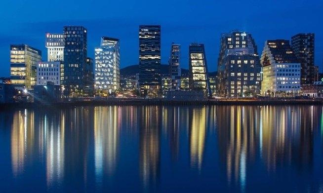 Oslo, Barcode