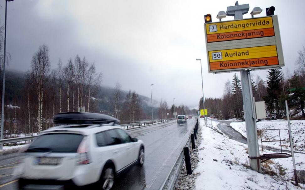 Riksvei 7 over Hardangervidda er blant de tre valgte veiene. Foto: Kyrre Lien / NTB scanpix