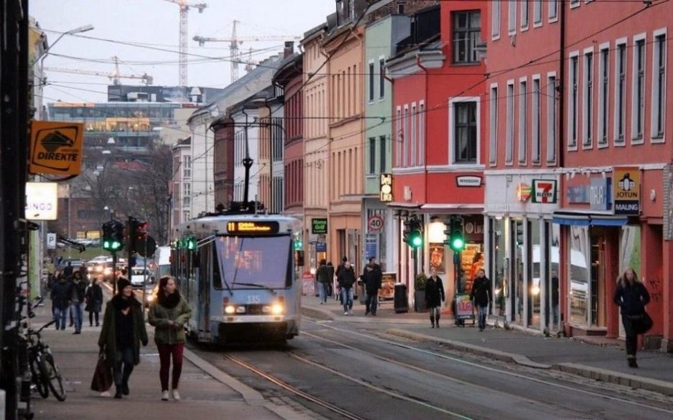 Fra Grünerløkka i Oslo. Foto: Jorge Franganillo/Flickr cc